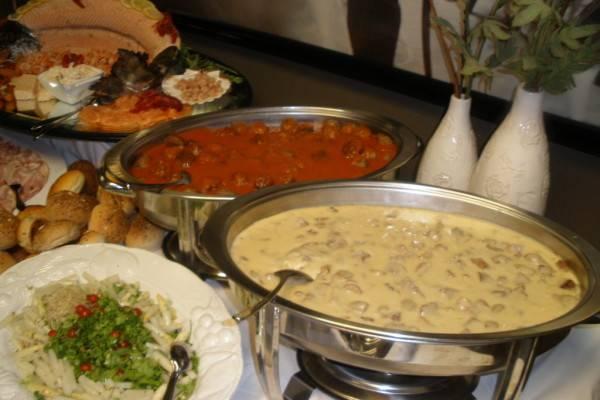 <p>E-Chopper buffet uitgebreid met soep en dessert<br></p>